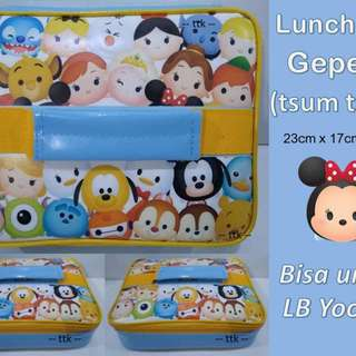 LUNCH BAG KARAKTER / YOOYEE / TAS BEKAL / LEGO BABY SHARK MARVEL TSUM