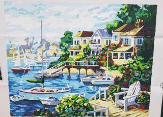 Sunshine Painted Art - frameless