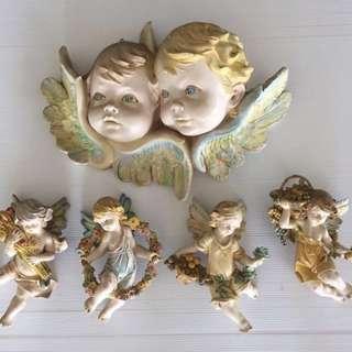 Angel wall decors