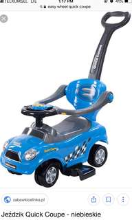 Quick coupe 2 in 1 push car