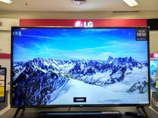 "LG 50"" Smart TV 4K HDR Promo Free 1X Angsuran Tanpa Kartu Kredit"