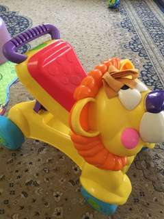 Fisher Price Lion 2 in 1 Walker