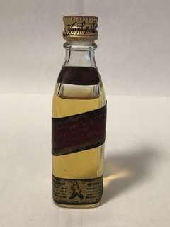 紅牌威士忌 酒辦5cl