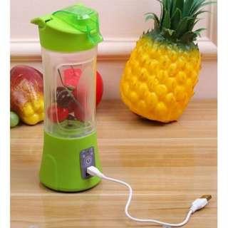 Shake N Go Blender Portable Rechargeable - Merah Muda