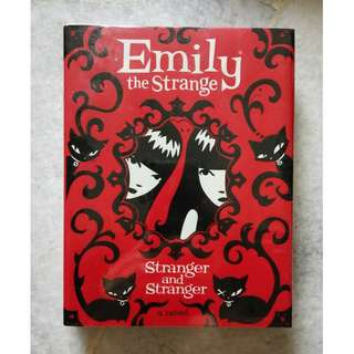 Emily the Strange - Stranger and Stranger (hardcover)
