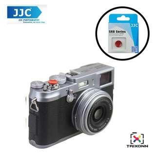 JJC SRB-C11DR Dark Red Metal Soft release button finger touch for Fujifilm X-PRO2 X-E2S X10 X20 X30 X100T X-T1 X100 X100S X100T X-E1 X-E2 XPRO-1 SXT-2 Nikon Df M2 F3 Sony RX1R II RX10 II Canon F-1 AE-1 Leica M1 M2 M3 M6 M7 M8 M9 M-E M-P M9-P M-E M-P M-A