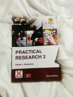 SHS TEXTBOOK: PRACTICAL RESEARCH2