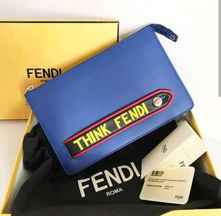Authentic Fendi Unisex Clutch
