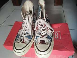 Converse Chuck Taylor as High 70s Chili Paste