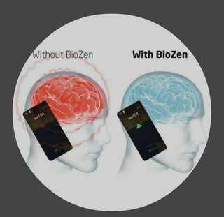 BioZen: class 1-Medical device~Europe Innovative micro-chip technology   sticker to protect  you from the harmful effects of electrosmog