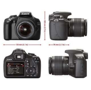 {pl} Canon EOS 1100D Camera