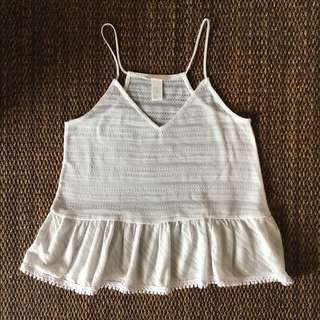 H&M White Top
