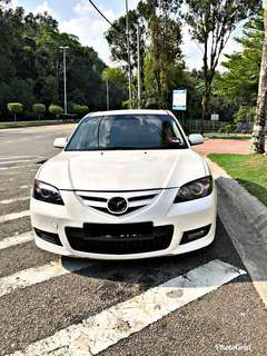 SAMBUNG BAYAR/CONTINUE LOAN  MAZDA 3 AUTO 2.0 YEAR 2009 MONTHLY RM 737 BALANCE 5 YEARS ROADTAX VALID  DP KLIK wasap.my/60133524312/mazda3