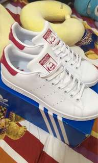 🚚 Adidas Stan smith 粉 25cm
