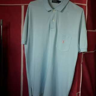 repriced Original Powder Blue Polo Ralph Lauren shirt