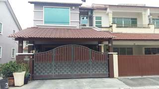 Pengkalan Double Storey Terrace For Sale