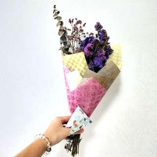 Dried Babysbreath bouquet (small)