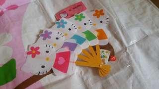 Hello Kitty 扇子(包平郵)
