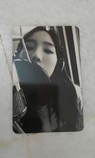 Taeyeon something new album photocard