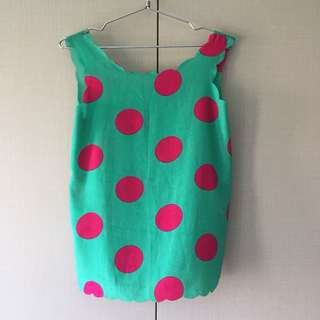 Coexist Polkadots Top