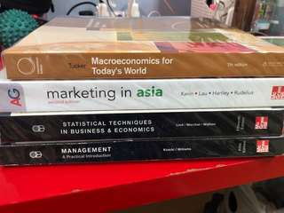 Textbooks (used in ngee ann polytechnic)