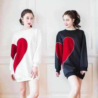 JUN 18 KOREAN HEART DRESS (DSL)
