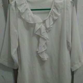 Baju blus lengan panjang