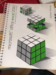 Microsoft Excel 2010 textbook