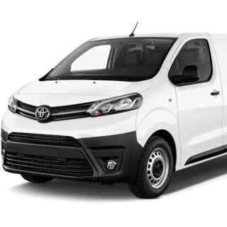 Brand new Toyota Proace Van for rent