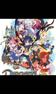 Sell or trade Disgaea 5 Switch