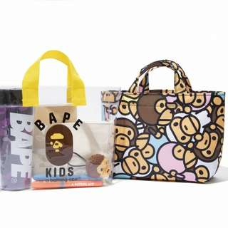 🆕🆕Bape🐒 1 Set 2 Bag