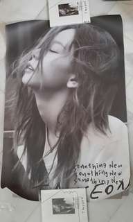 [inc postage] Taeyeon something new poster