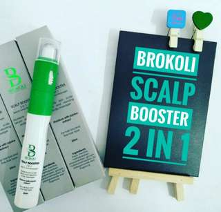 🚚 BROKOLI SCALP BOOSTER 2IN1 SERUM & MASSAGER / 25ml.   Processing proceed upon full payment received via bank transfer