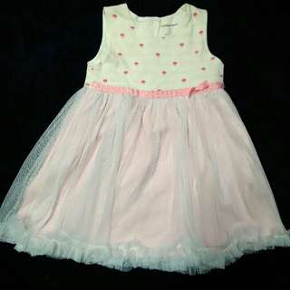 Bird and Bees Dress 12m
