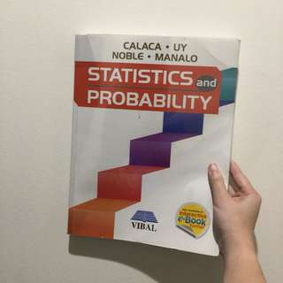 SHS | Statistics and Probability textbook