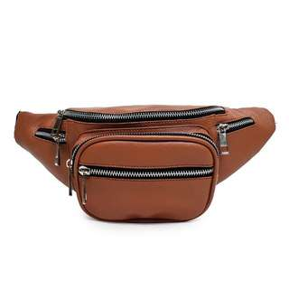 WAIST BAG | BAGGY - BROWN