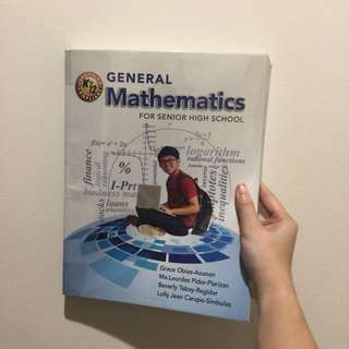SHS | General Mathematics Textbook