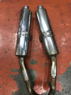 Honda VTR SV 1 Exhaust Pipe