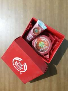 The Body Shop Strawberry Hand Cream & Body Butter (new)