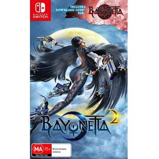 Nintendo Switch Bayonetta 2 + DLC