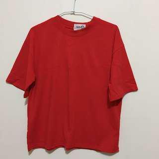 🚚 蕃茄紅短袖上衣T恤