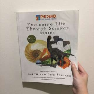 SHS | Earth and Life Science book