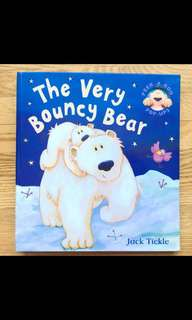🚚 The very bouncy bear pop up book