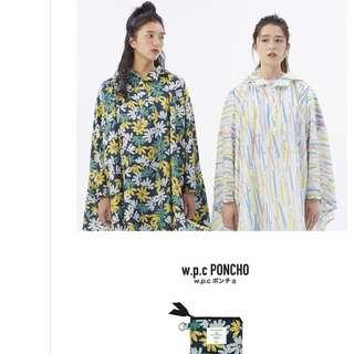 日本雨具名牌 w.p.c 雨衣