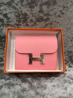 Hermes Constance Wallet compact 1 Q
