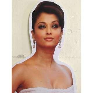 FOR RENT: Aishwarya Rai Standee (Life size)