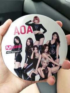 [POSTAGE INCLUDED] AOA extra large badge Mwave