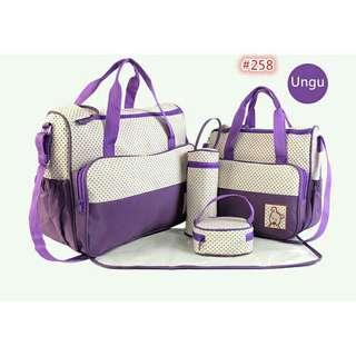 Diaper bag tas perlengakapn bayi travelling