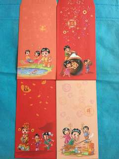 8 pcs Nets Red Packets