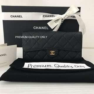 Ready Stock Chanel Bifold Wallet